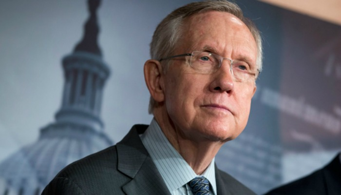 US Senate Democratic Leader Harry Reid