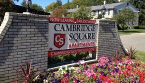 cambridge apartments southfield michigan
