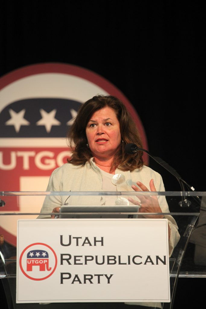 Enid Mickelsen Utah Republican Party