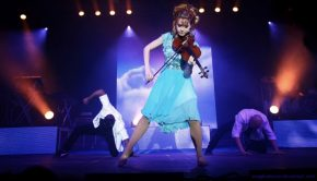 Lindsey Stirling on stage performance