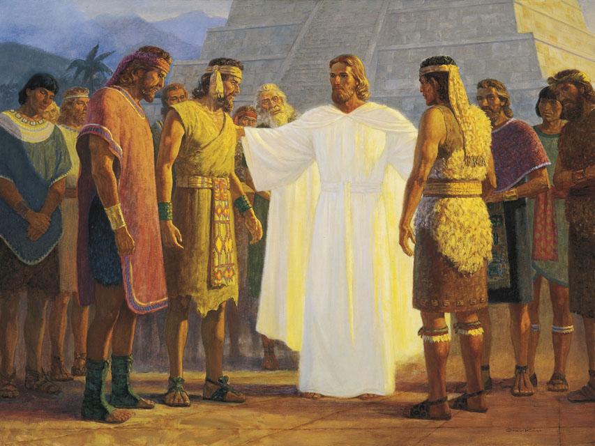 Christ Teaches Nephites