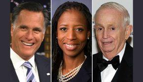Mitt Romney, Mia Love, and Bill Marriott