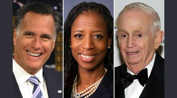 Mitt Romney, Mia Love, and Bill Marriott