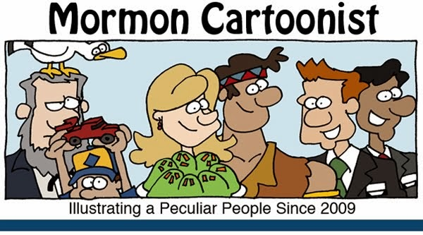 Mormon Cartoonist Header