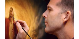 Howard Lyon Painting From Fear to Faith