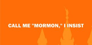 Call me Mormon title graphic