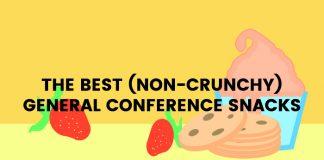 non-crunchy conference treats