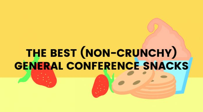 non-crunchy conference treats