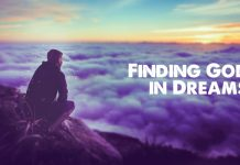 Finding God in Dreams title graphic