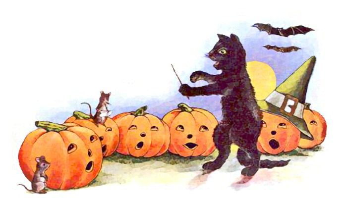 halloween caroling
