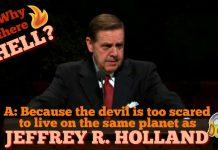 Jeffrey R Holland Joke