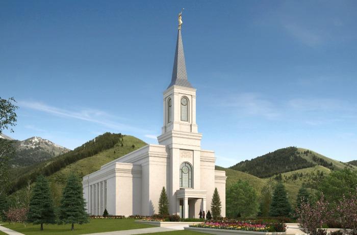 wyoming temple rendering