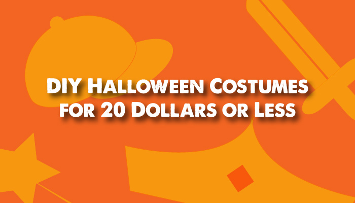 DIY Halloween Costumes for Cheap