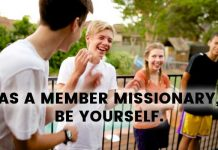 LDS Member Missionary title image