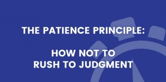 Patience Principle title graphic