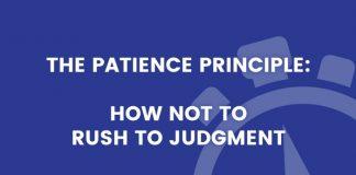 Patience Principle title graphic