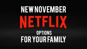 November Netflix title graphic