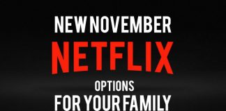November Netflix title graphic