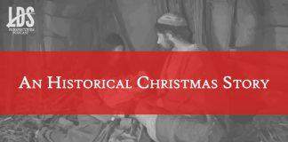 Joseph, Mary, and Jesus title graphic