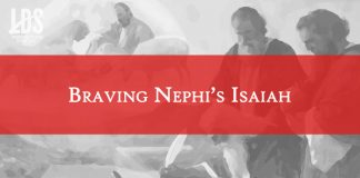Braving Nephi's Isaiah title graphic