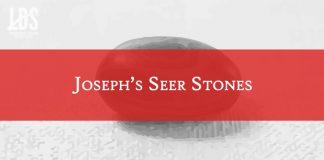 Joseph's Seer Stones title graphic