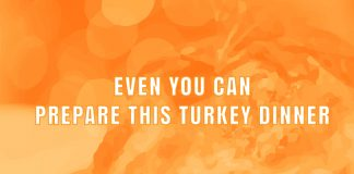 turkey dinner title graphic