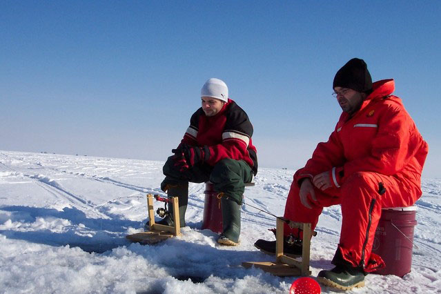 One family's tradition of going ice fishing