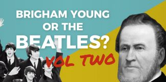Brigham Young or the Beatles quiz graphic