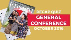 Oct 2016 Conf recap quiz