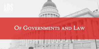Of Governments and Law title graphic