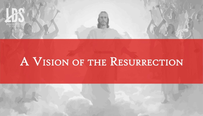 a vision of the resurrection title graphic