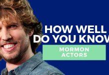 Mormon actors quiz title graphic