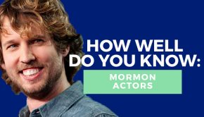 Mormon actors quiz title graphic