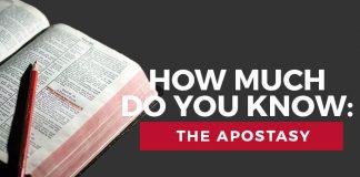 apostasy quiz title graphic