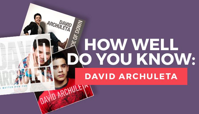 david archuleta quiz title graphic