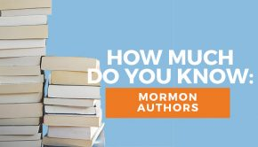 Mormon authors quiz title graphic