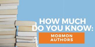 Mormon authors quiz title graphic