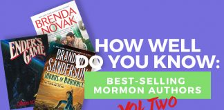 title graphic lds authors quiz