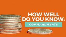 commandments quiz title image