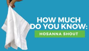 hosanna shout quiz title graphic