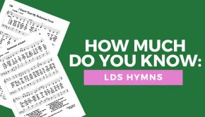 LDS hymns quiz title graphic