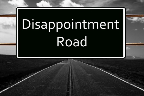 Disappointment Road sign graphic