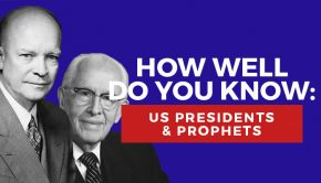 quiz title graphic Presidents and Prophets