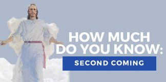 second coming quiz title graphic