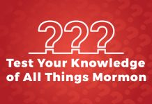test your knowledge of Mormonism title graphic