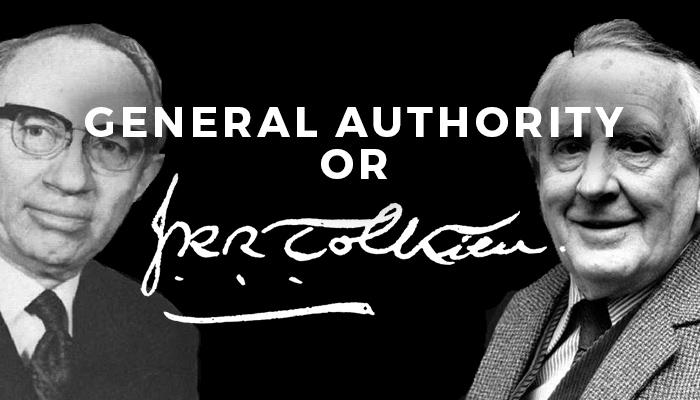 Mormon GA or Tolkien quiz