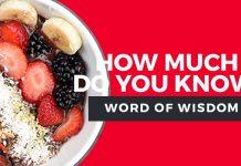 word of wisdom quiz title graphic