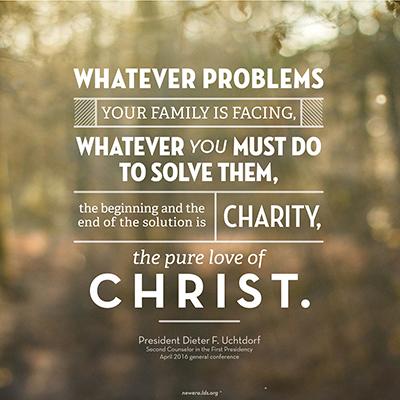 Christ charity meme