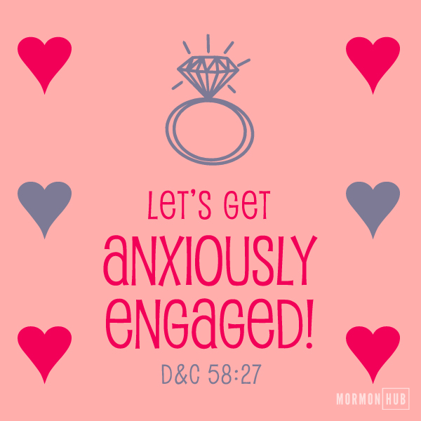 Anxiously engaged valentine