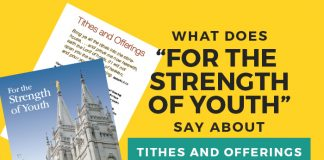 For the Strength of Youth Tithes Quiz